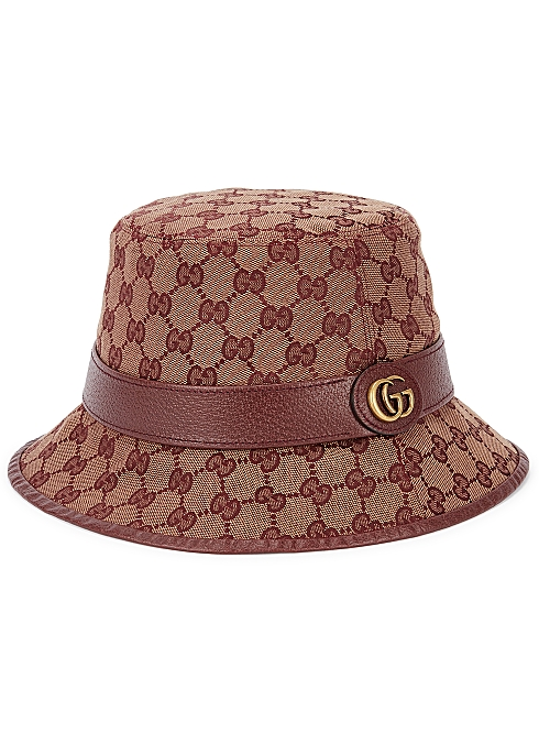 1540cc05b Gucci GG Supreme canvas bucket hat - Harvey Nichols