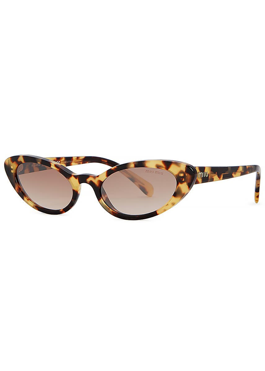 8d2211ad6999 Miu Miu Sunglasses, Cat Eye Sunglasses - Harvey Nichols