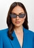 Black cat-eye sunglasses - Miu Miu