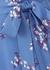 Blumea blue floral-print dress - Samsøe & Samsøe