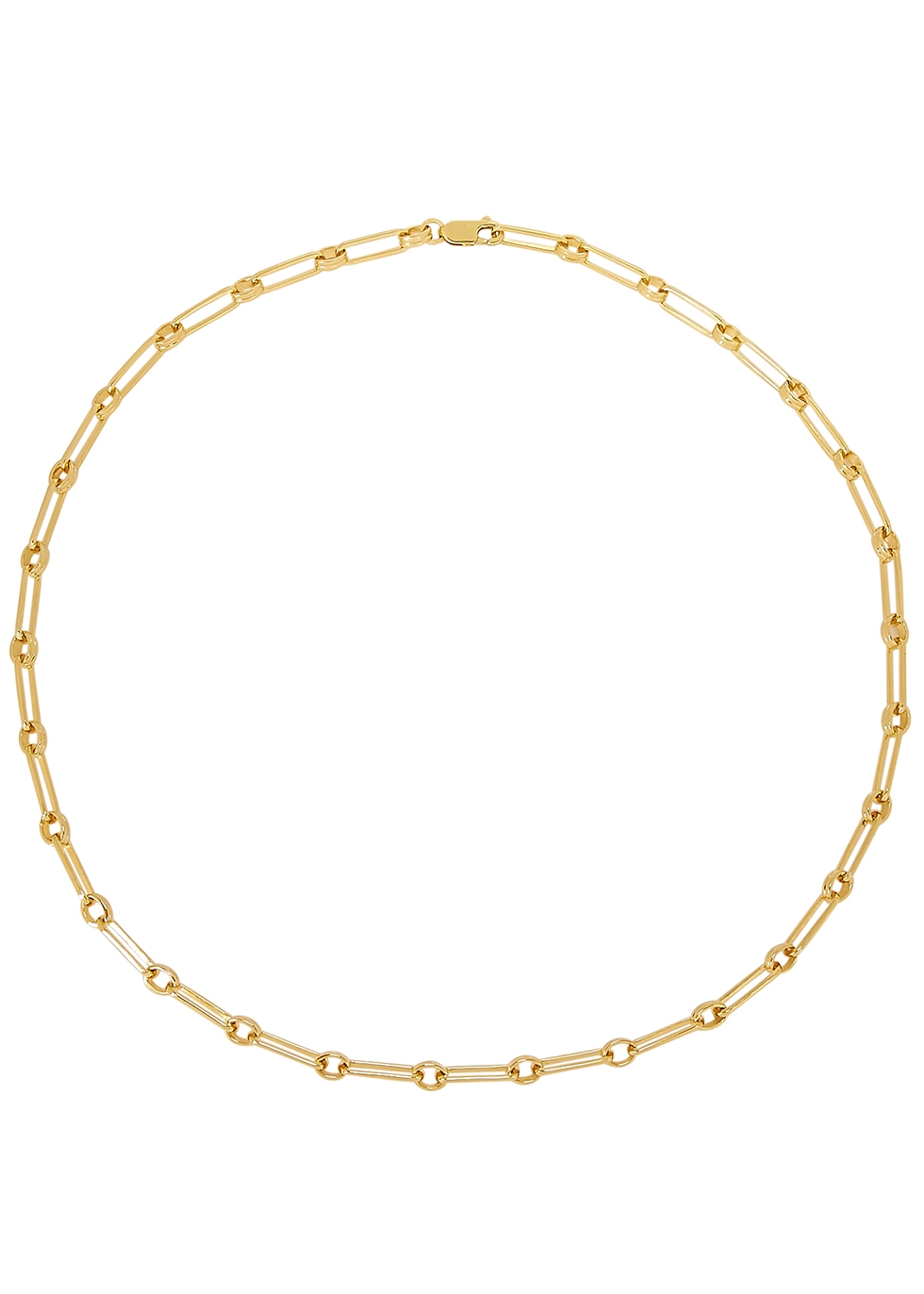 Aegis gold vermeil necklace