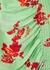 Serelida floral-print ruched midi dress - Preen Line