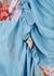 Antoinette blue floral-print midi dress - Preen Line