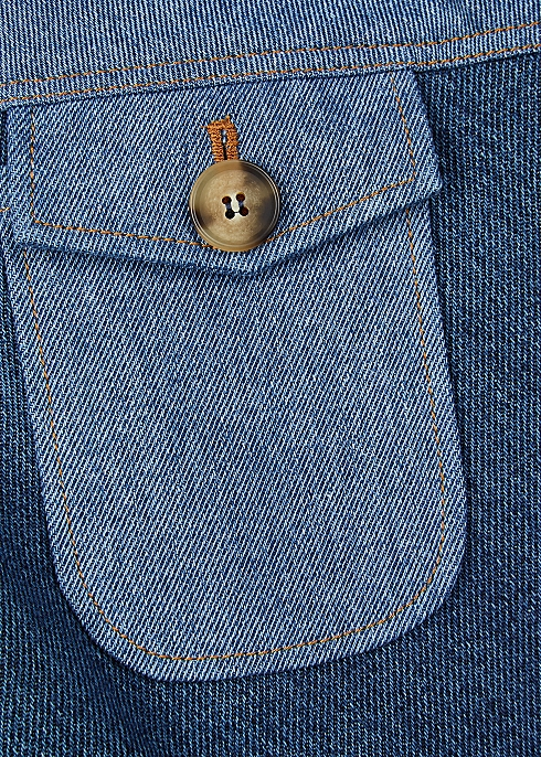 10e6580e18d2 Rejina Pyo Astrid patchwork denim skirt - Harvey Nichols