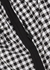 Checked shell sweatpants - Adam Selman Sport