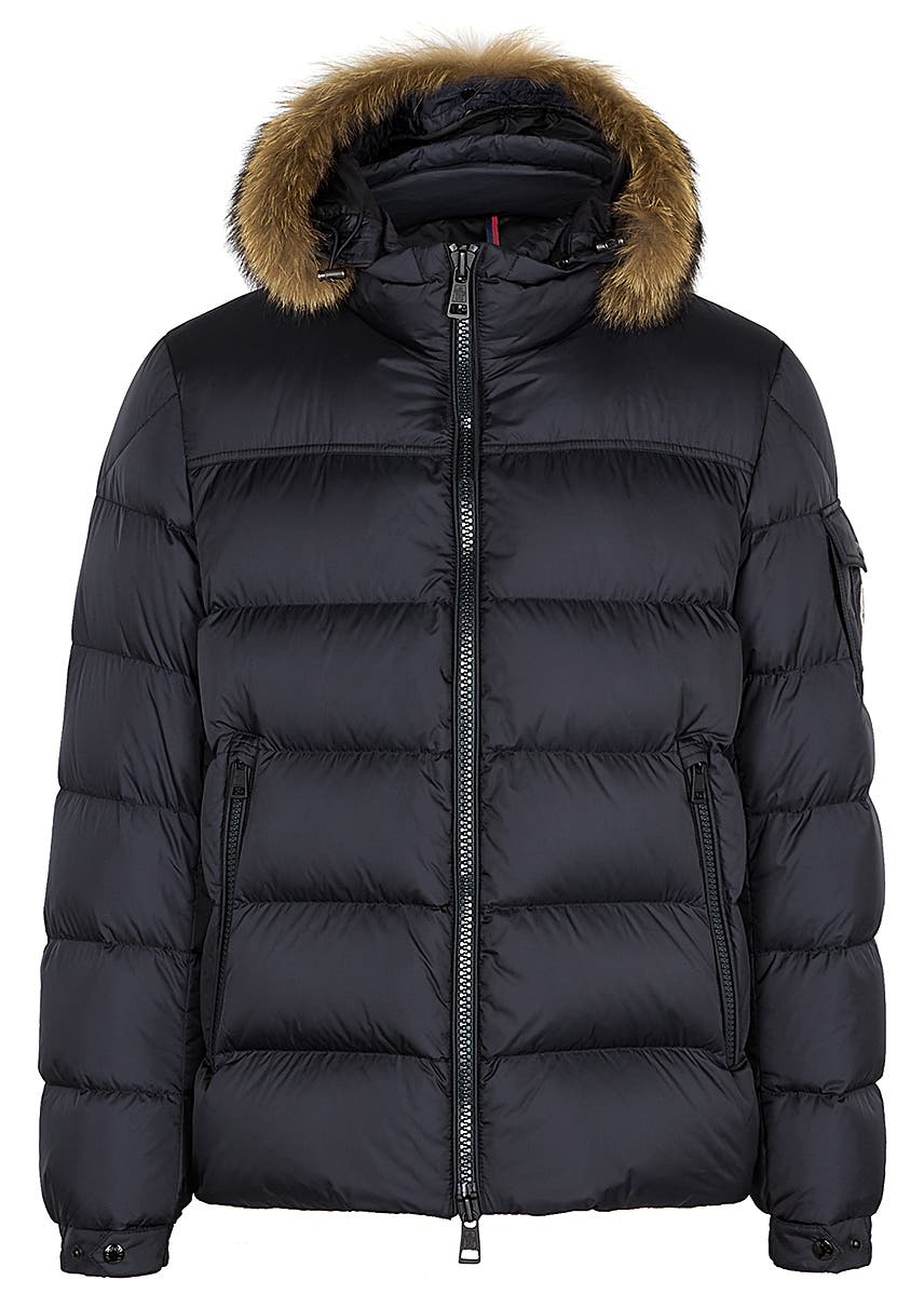 7c41c972c1c New In. Moncler. Berriat black quilted shell jacket. £725.00 · Marque navy  quilted shell coat ...