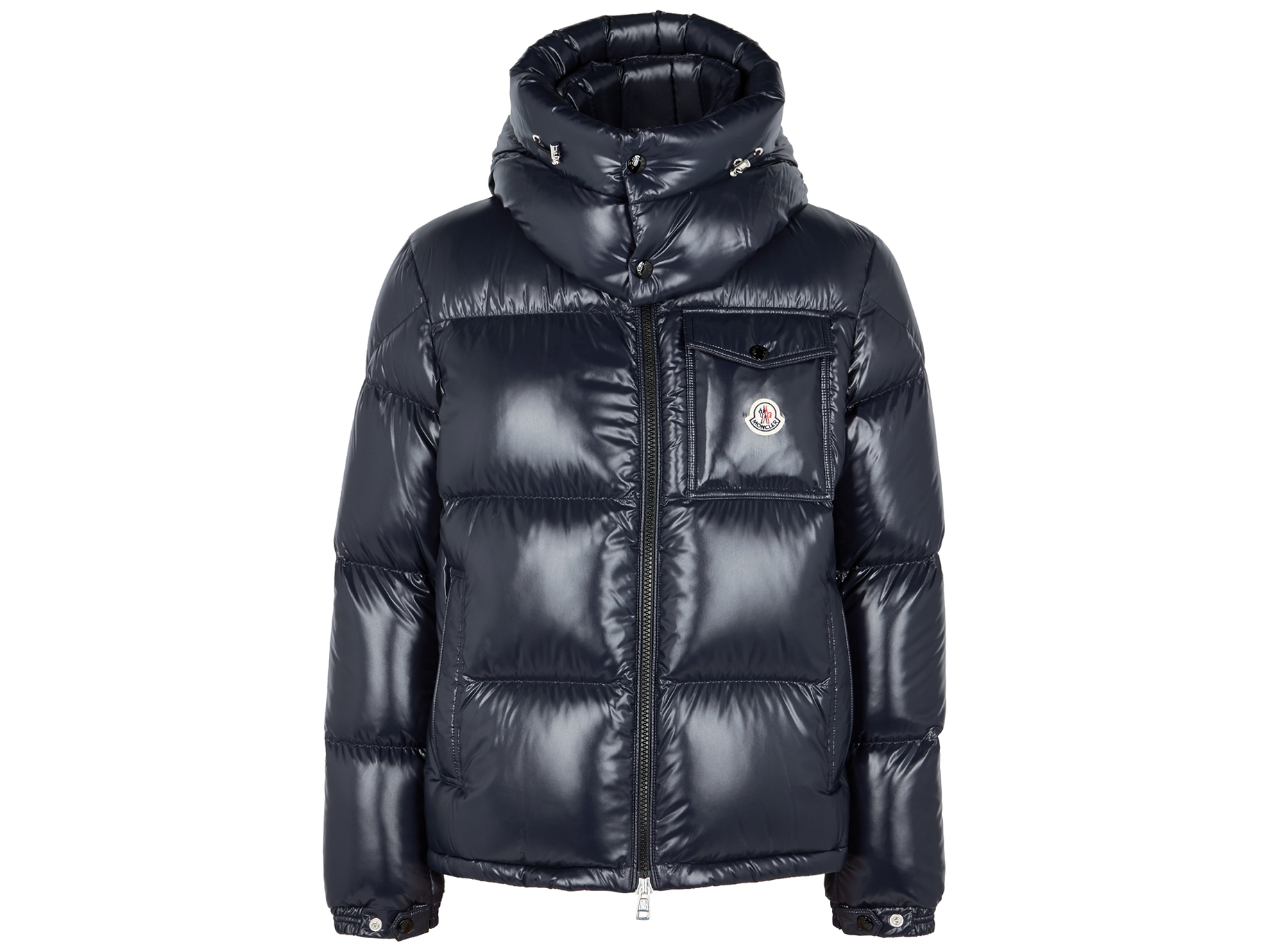 8c7f2faeb Montbeliard navy quilted shell jacket