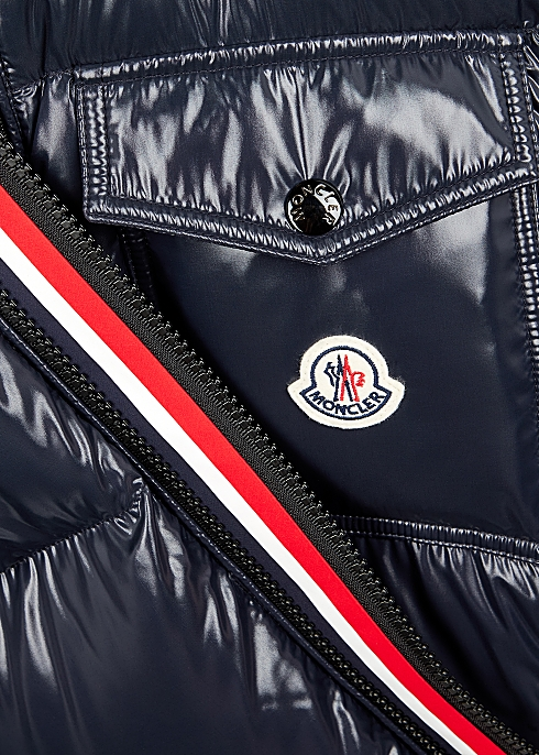 6eb76e2b4 Moncler Montbeliard navy quilted shell jacket - Harvey Nichols