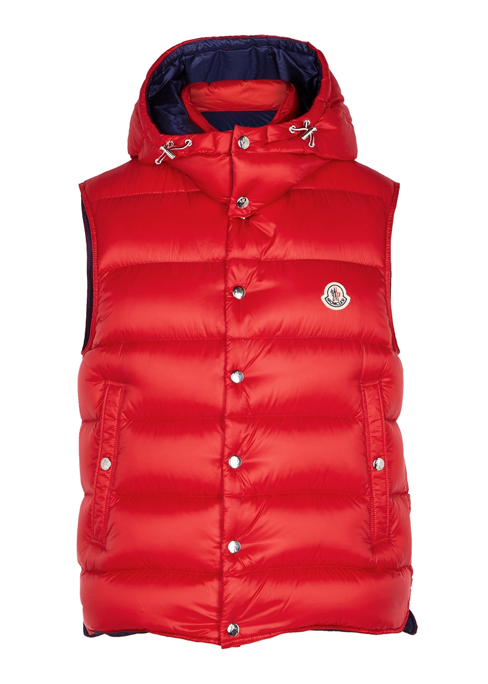 c8f0ac228 Billercart red quilted shell gilet