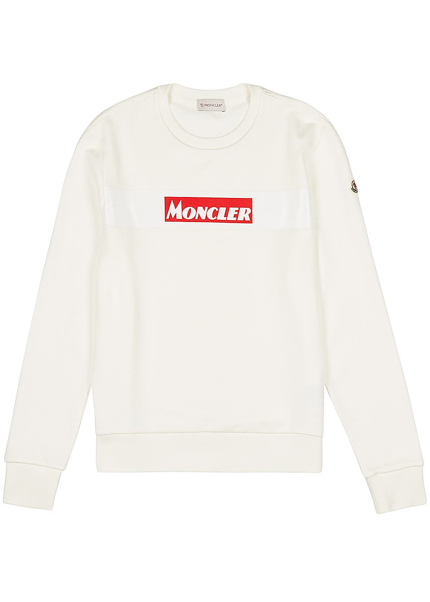 4c1830cde7063f Off-white printed cotton sweatshirt ...
