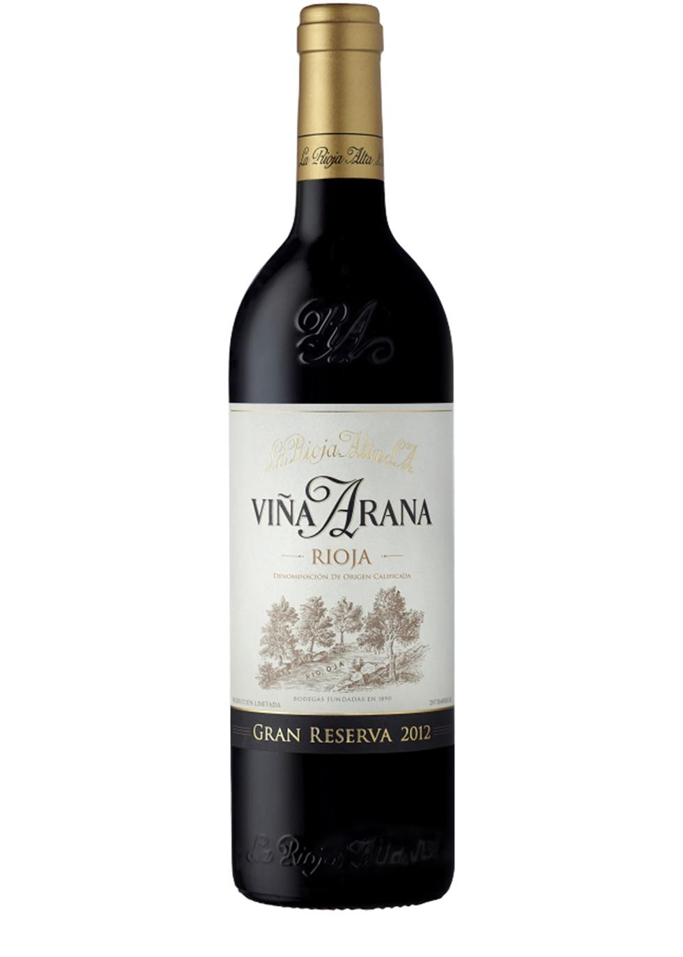 Viña Arana Rioja Gran Reserva 2012