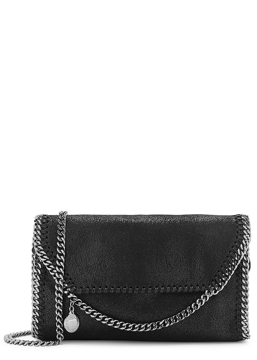 959d75a59ba1 Stella McCartney. Stella Logo canvas tote. £595.00 · Falabella mini black  shoulder bag ...
