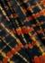 Black tie-dye cotton top - Proenza Schouler