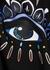 Eye-embroidered hooded cotton sweatshirt - Kenzo