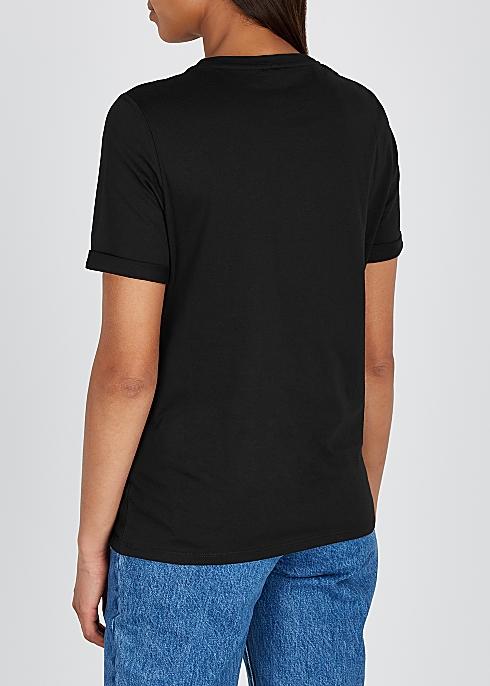 fb36dfb095 Kenzo Black printed cotton T-shirt - Harvey Nichols