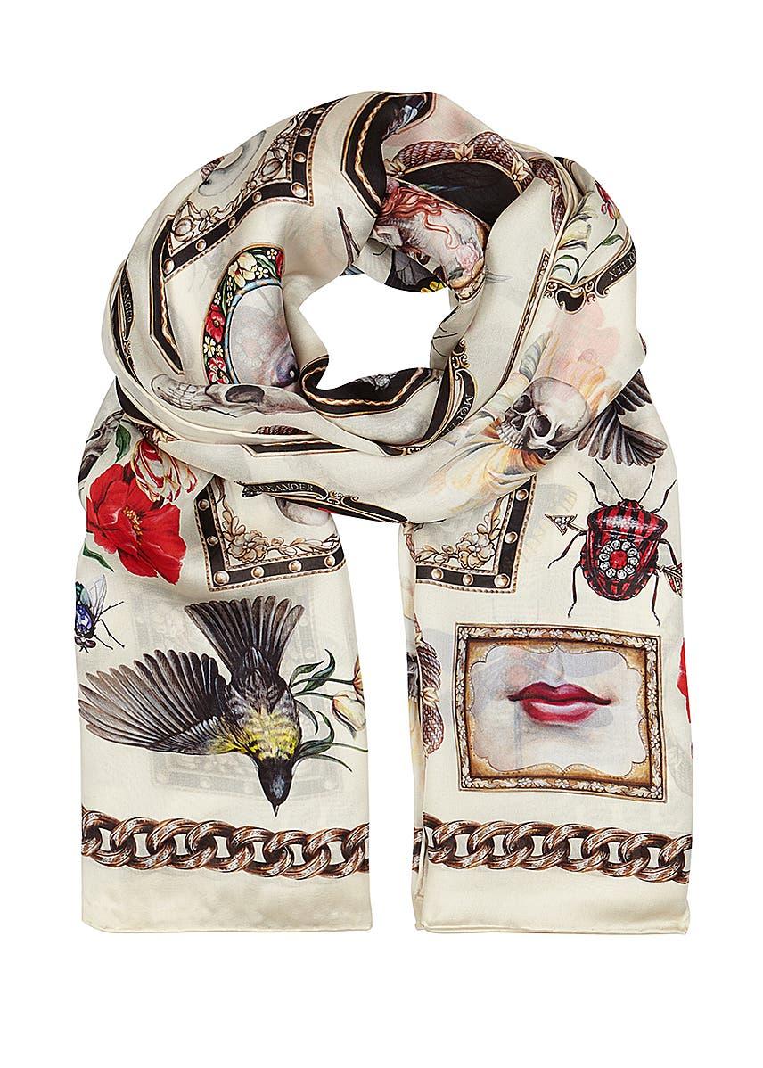 4ca2a775095ce Designer Silk Scarves - Luxury Brands - Harvey Nichols