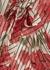 Floral-print silk chiffon blouse - RED Valentino