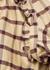 Ilaria camel checked brushed cotton shirt - Isabel Marant Étoile