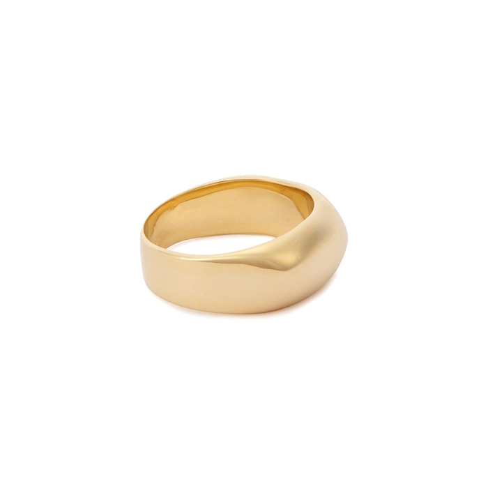 Ariana Boussard-Reifel Maya Gold-Tone Ring