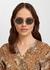 Tribute gold-tone sunglasses - Versace