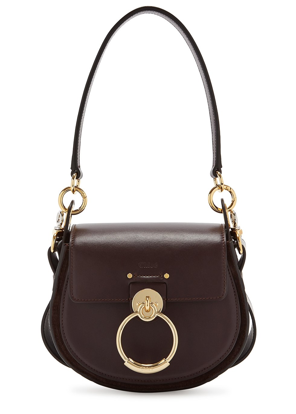CHLOÉ | Chloé Tess Small Leather Shoulder Bag | Goxip