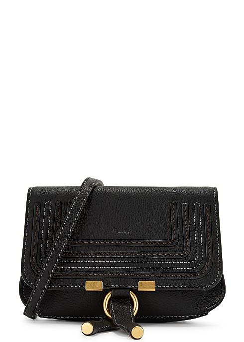 05e2e19d5f60ff Chloé Marcie black leather belt bag - Harvey Nichols