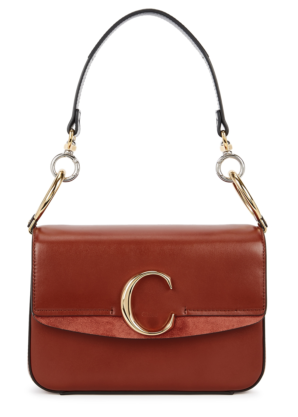 CHLOÉ   Chloé Chloé C Small Leather Shoulder Bag   Goxip