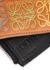 Small Anagram-embossed leather wallet - Loewe