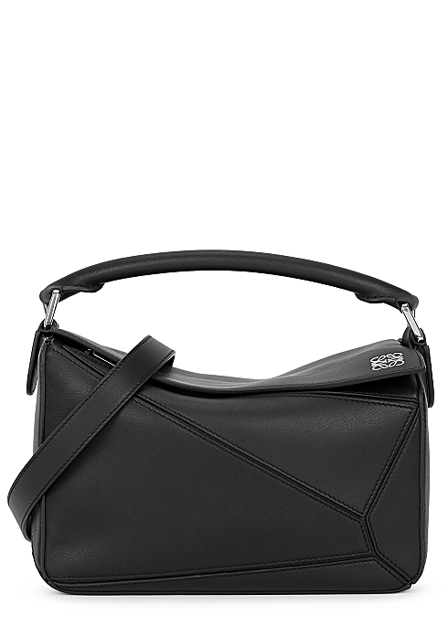 f86abf4f4305 Loewe Puzzle small leather cross-body bag - Harvey Nichols