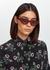 Red cat-eye sunglasses - Valentino