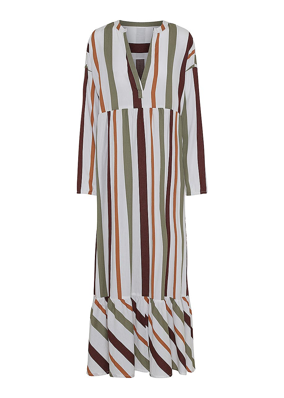 ba8a7decc4e8 Cara dress safari stripe - s - safari stripe