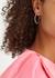 Ferris Wheel crystal-embellished hoop earrings - FALLON