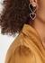 Sweetheart crystal-embellished drop earrings - FALLON