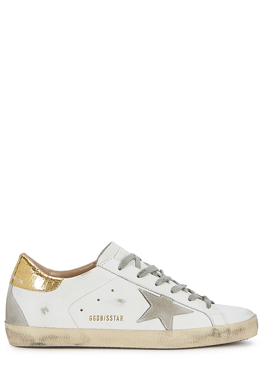 b1b3e5ccd416 Superstar white leather sneakers Superstar white leather sneakers. New  Season. Golden Goose Deluxe Brand
