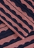 Pink scalloped fine-knit top - M Missoni