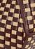 Corsa mini leather and straw top handle bag - Wandler
