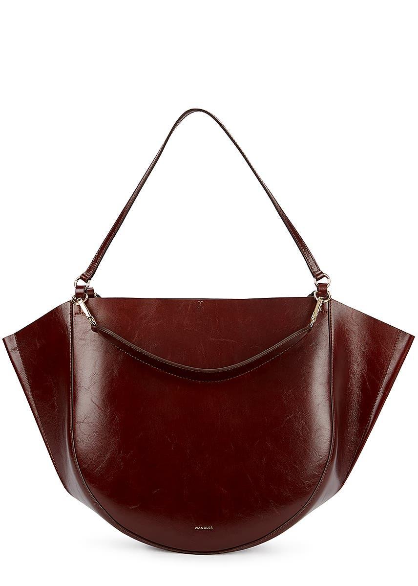 2a5b796cd Mia burgundy leather tote ...