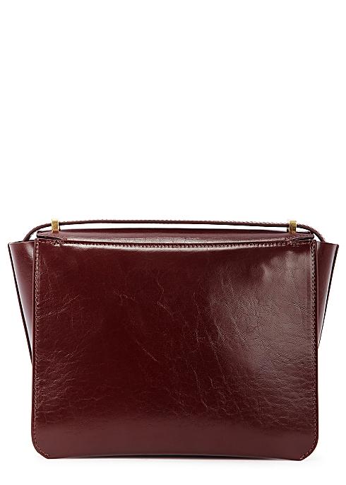 434b5a3f2 Wandler Luna burgundy leather cross-body bag - Harvey Nichols