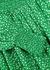 Marie green floral-print satin dress - RIXO