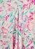 Amel floral-print silk midi dress - RIXO