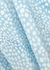 Kelly printed bias-cut silk midi skirt - RIXO