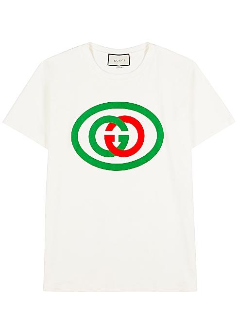5564878642e6 Gucci GG-print cotton T-shirt - Harvey Nichols