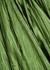 Green silk-satin maxi skirt - forte_forte