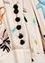Ivory printed silk maxi dress - forte_forte
