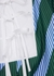 Striped cotton blouse - Tory Burch