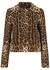 Leopard-print cropped wool jacket - Dolce & Gabbana