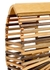 Gaia's Ark mini tonal bamboo clutch - Cult Gaia
