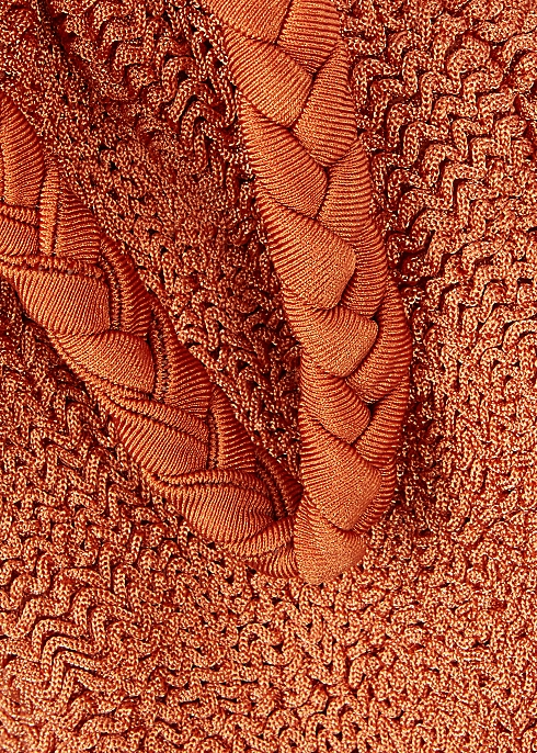 d8c545c4ec8d7 Hunza G Trina rust seersucker bikini - Harvey Nichols
