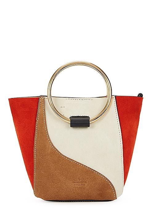 0b9ef857be6c0 ATP Atelier Chieti panelled suede cross-body bag - Harvey Nichols