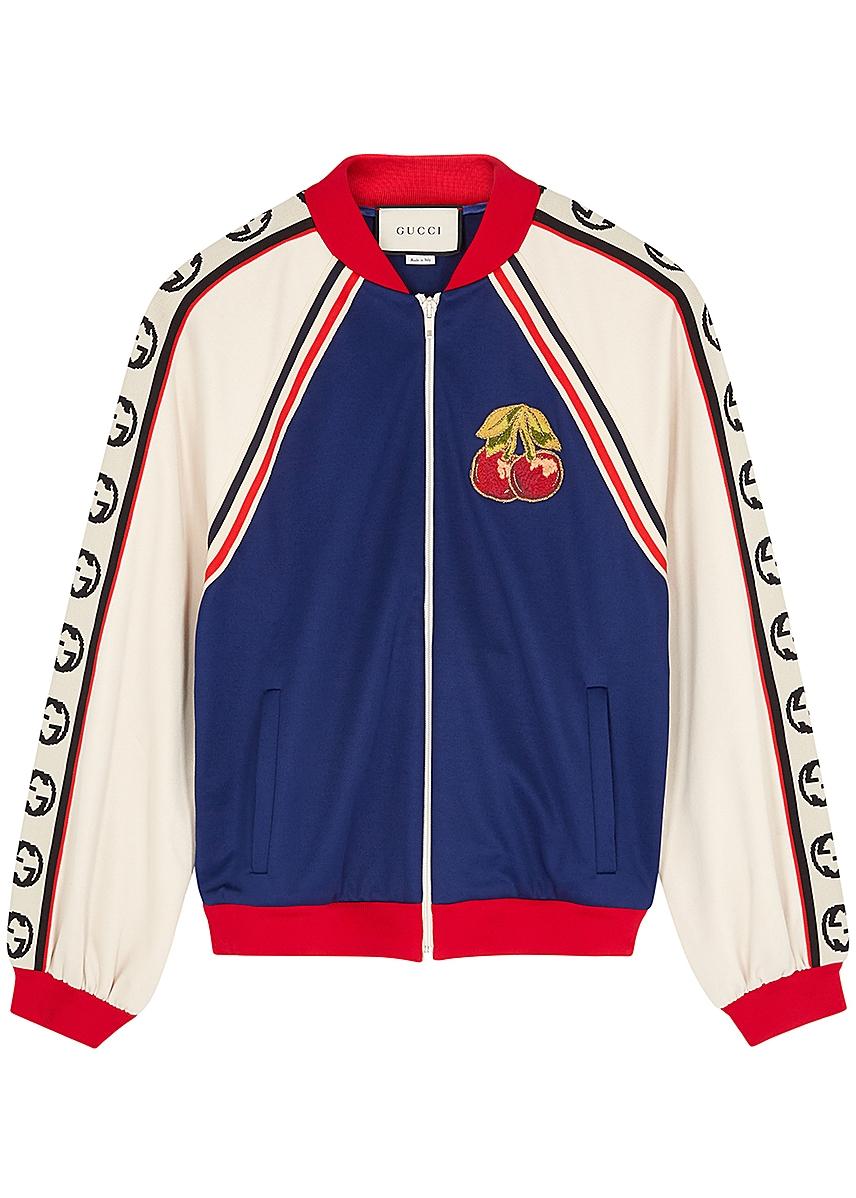 dd5b54f88 Panelled stretch-jersey jacket ...